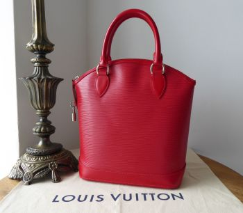 Louis Vuitton Lockit NM Top Handle Bag in Epi Rouge Red