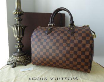 Louis Vuitton Speedy 30 in Damier Ebene - SOLD