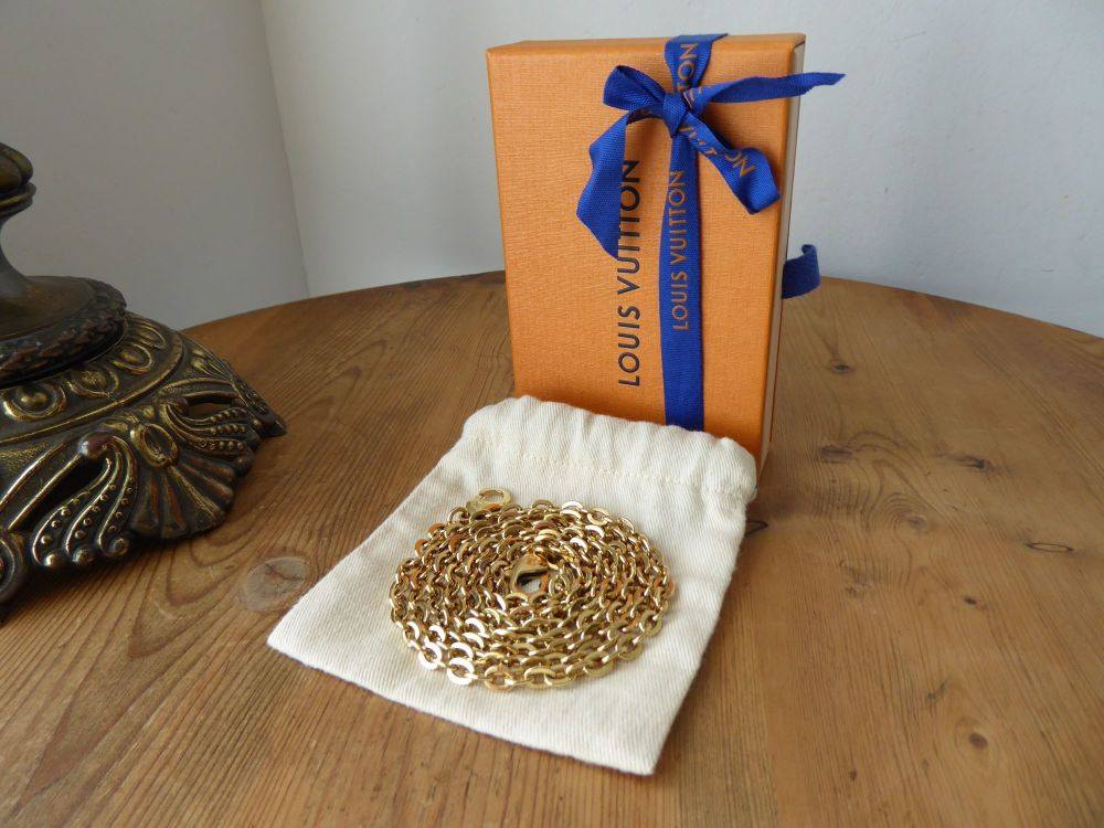 Louis Vuitton Chain Shoulder Strap in Golden Brass from a Pochette Félicie