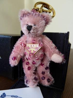 Prada 'Rosa' 2008 Trick Bear Bag Charm
