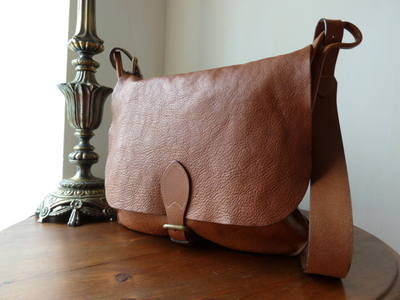 Mulberry Morgan Messenger in Oak Natural Leather - SOLD