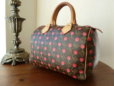 Louis Vuitton Cerises Speedy 25 Monogram- SOLD