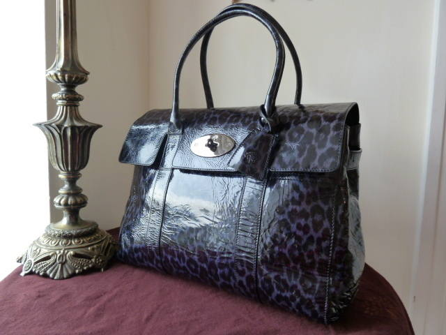 Mul Bays Navy Patent Leopard