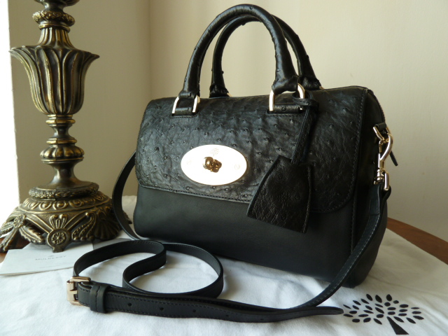 Mulberry Del Rey in Black Forest Soft Matte Leather - SOLD