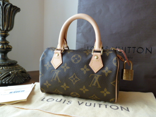 Louis Vuitton Mini HL (plus padlock & 2 keys) - New