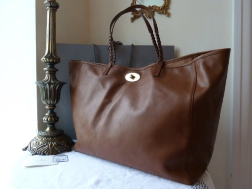 Mulberry Large Dorset Tote in Black Soft Nappa Leather - SOLD