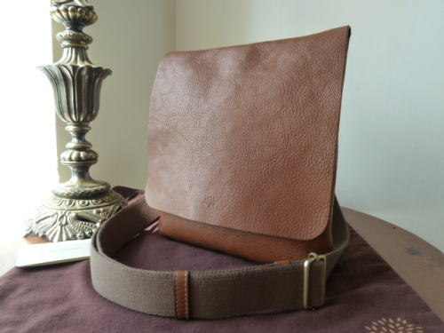 Mulberry Dan Messenger in Oak Natural Leather - SOLD