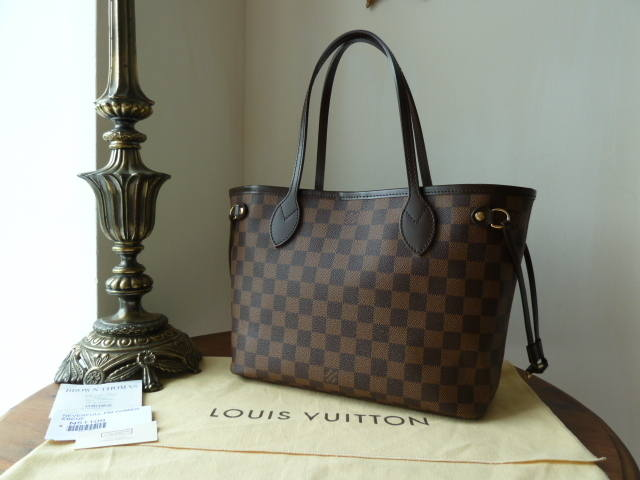 LV Neverful PM Damier Ebene