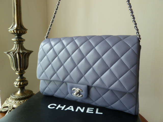 a2fad421711b Chanel Large Clutch With Chain (CWC) Flap Bag in Lavender ...
