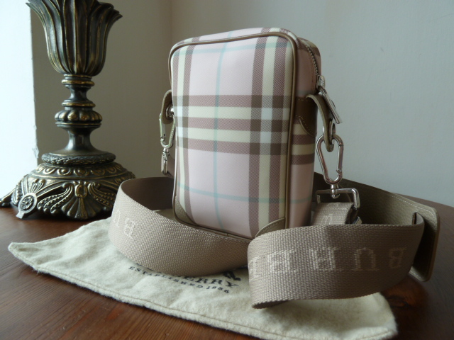 Burberry Mini-Camera Bag in Pink Nova Check - SOLD