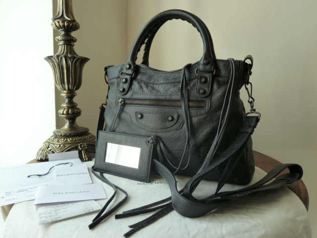 Balenciaga Classic Work Bag in Petrol Lambskin - SOLD