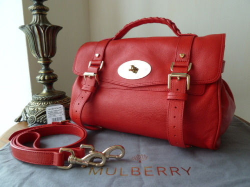 Mulberry Regular Alexa in Oak Soft Buffalo Leather - SOLD