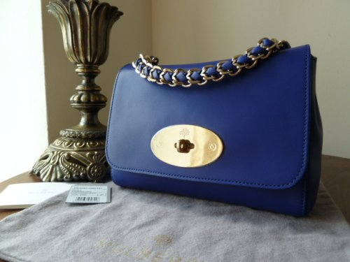 e065157ab1a9 Mulberry Cecily in Cosmic Blue Polished Calf Leather - SOLD