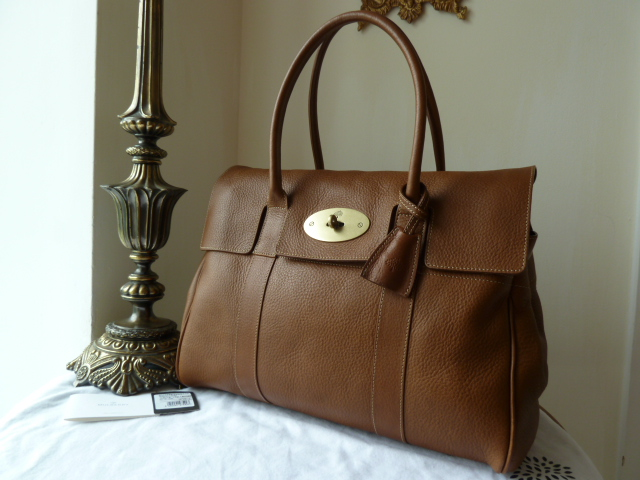 Mulberry Bayswater in Oak Natural Leather - SOLD