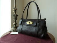 Mulberry East West Bayswater in Chocolate Natural Leather ref CS