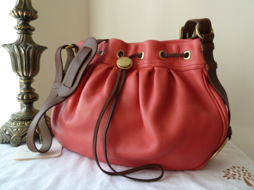 Mulberry Sofia Messenger in Watermelon Pebbled Leather