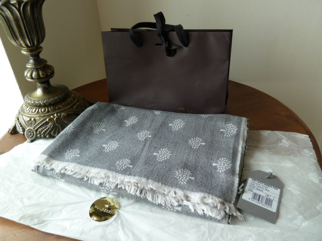 Mulberry Tamara Silk and Cotton Mix Scarf - SOLD