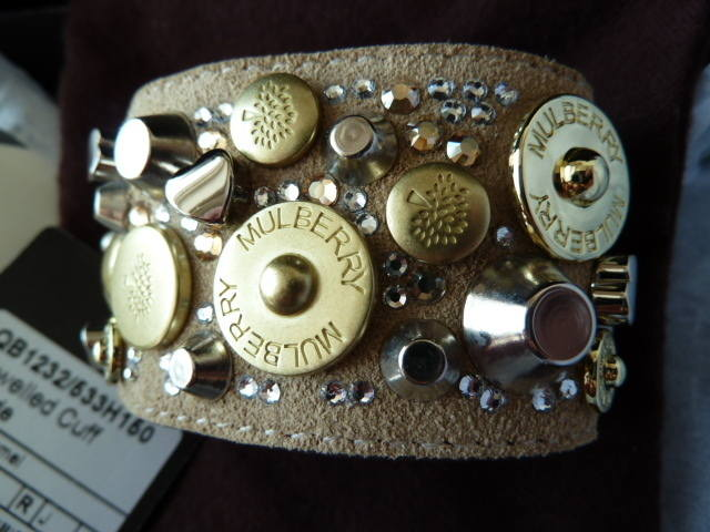 Mulberry Jewelled Cuff NEW