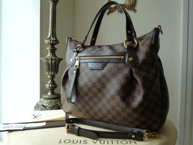 Louis Vuitton Evora MM in Damier Ebene
