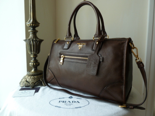 Prada Antic Bruciato Shoulder Bag- SOLD