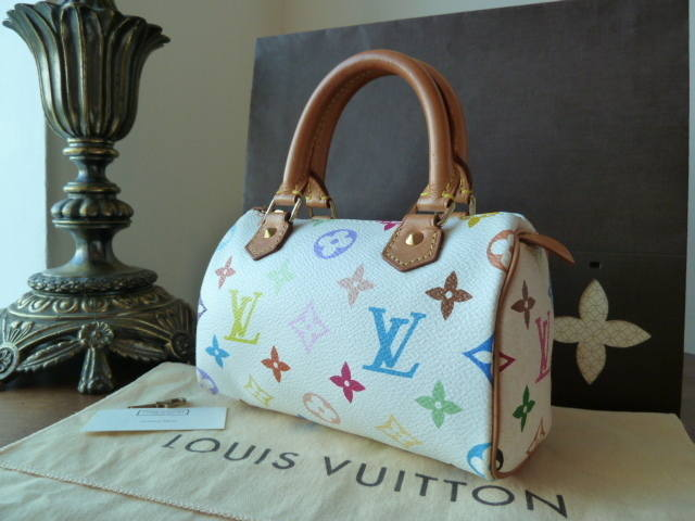 Louis Vuitton Mini HL White Multicolore
