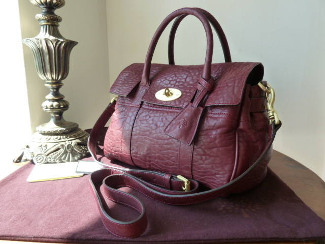 Mulberry SBS Conker Large Grain Nappa
