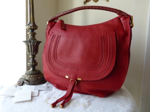 Chloe Marcie Hobo Shoulder Bag in Black - SOLD