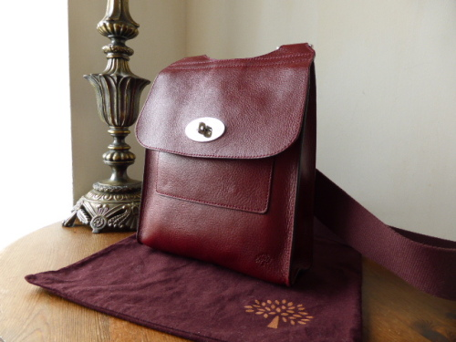 Mulberry Antony in Blueberry Soft Buffalo - SOLD