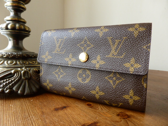 Louis Vuitton French Frame Purse in Monogram Canvas