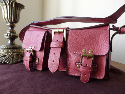 Mulberry Blenheim in Lavender Darwin Leather -NEW