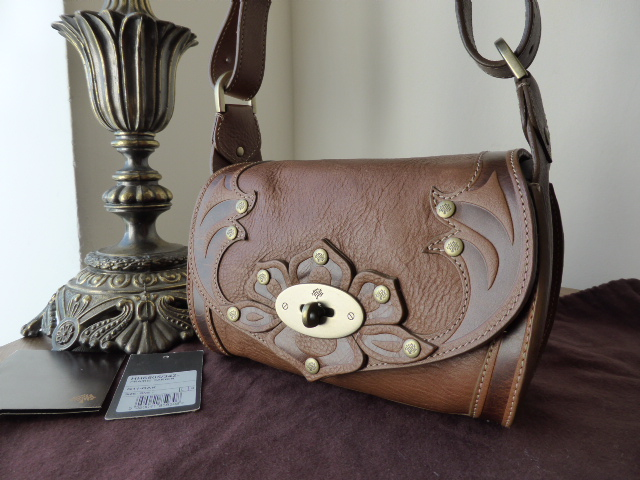 Mulberry Prairie Bag & Purse in Oak Tooled Leather
