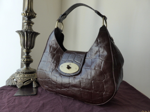 Mulberry Soho in Chocolate Congo Leather