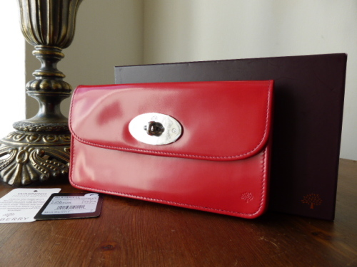 Mulberry Long Locked Purse in Grape