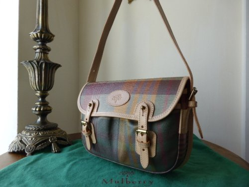 Mulberry Small Trout Satchel in Antcient Tartan