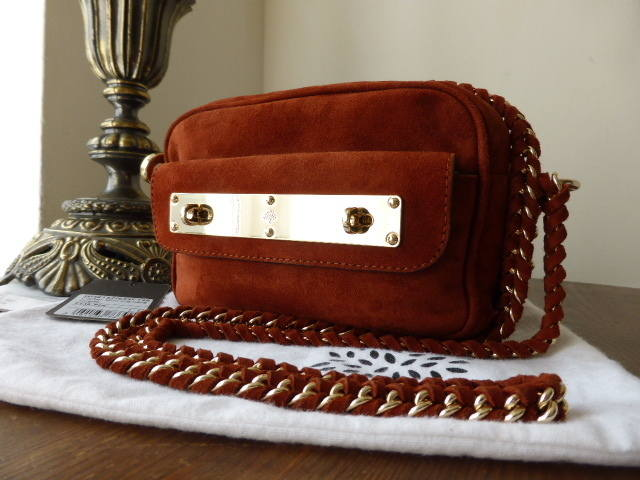 Mulberry Carter Mini Camera Fox Suede