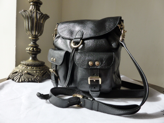 Mulberry Gracie in Black Soft Spongy Leather - New
