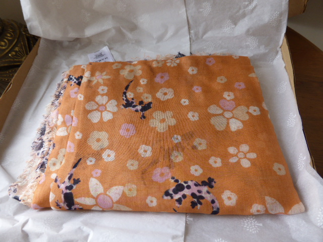 Mulberry Floral Tree Wrap in Summer Khaki Bamboo and Soya Mix - New