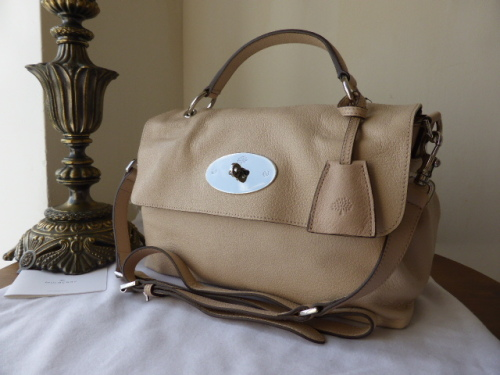 Mulberry Bayswater in Heather Glossy Goat Leather - New