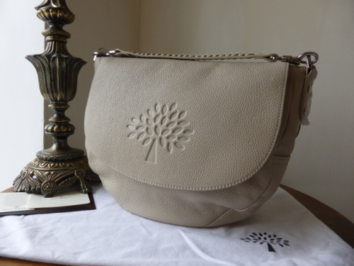 96a58544f90e ... reduced mulberry effie satchel in snowball white spongy pebbled leather  sold a72bb 6ed92
