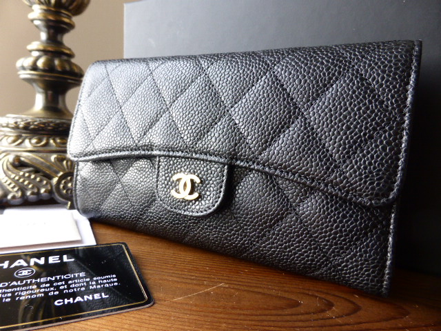 Chanel Crave Tote in Anthracite Glazed Calfskin - New