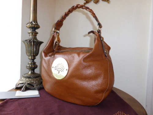 Mulberry Medium Daria Hobo in Oxblood Soft Spongy Leather - SOLD