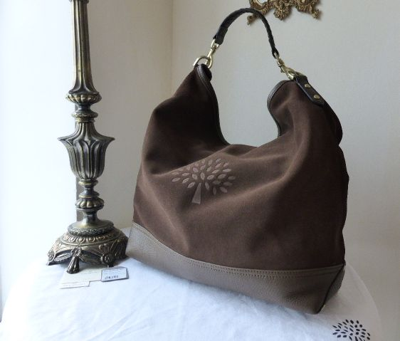 Mulberry Effie Hobo in Black Spongy Pebbled Leather - SOLD