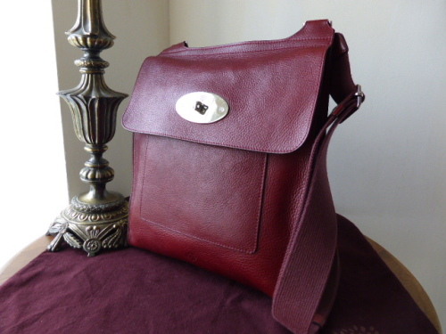 Mulberry Large Antony in Burgundy Rio Leather - SOLD