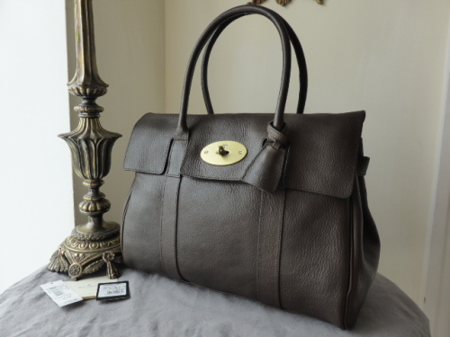 Mulberry Bayswater in Chocolate Natural Leather - SOLD