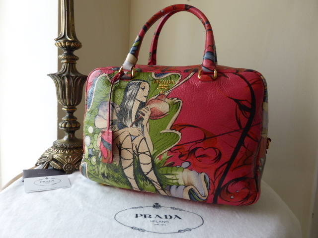 Prada Fairy Bauletto Peonia NEW