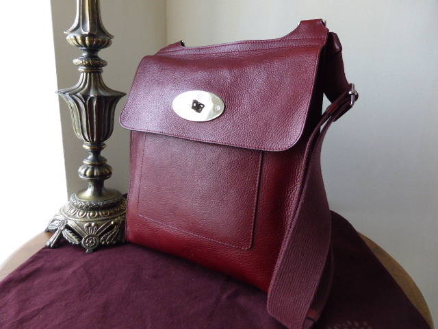 Mulberry Antony Large Burgundy NVT