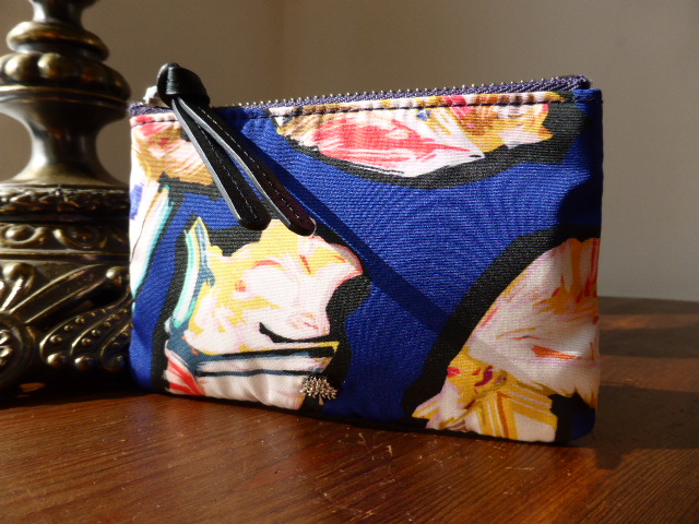 Mulberry Neon Woodland Small Zip Pouch - SOLD