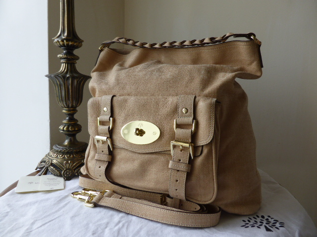 Mulberry Alexa Hobo in Plum Soft Buffalo Leather - SOLD