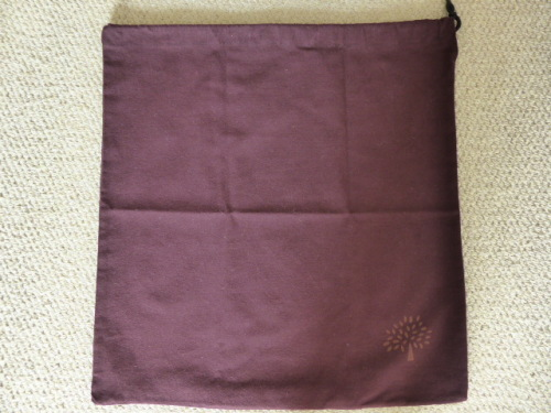 Mulberry Dustbag medium (44.5cm x 48cm) ref LO