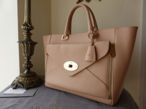 Mulberry Willow Tote in Nude Silky Classic Calf - As New*